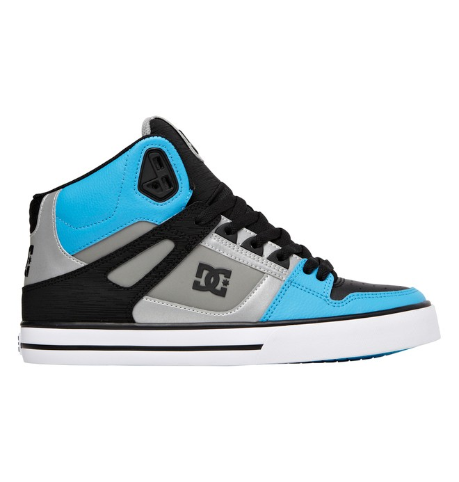 0 Men's Spartan WC High-Top Shoes Green 302523 DC Shoes