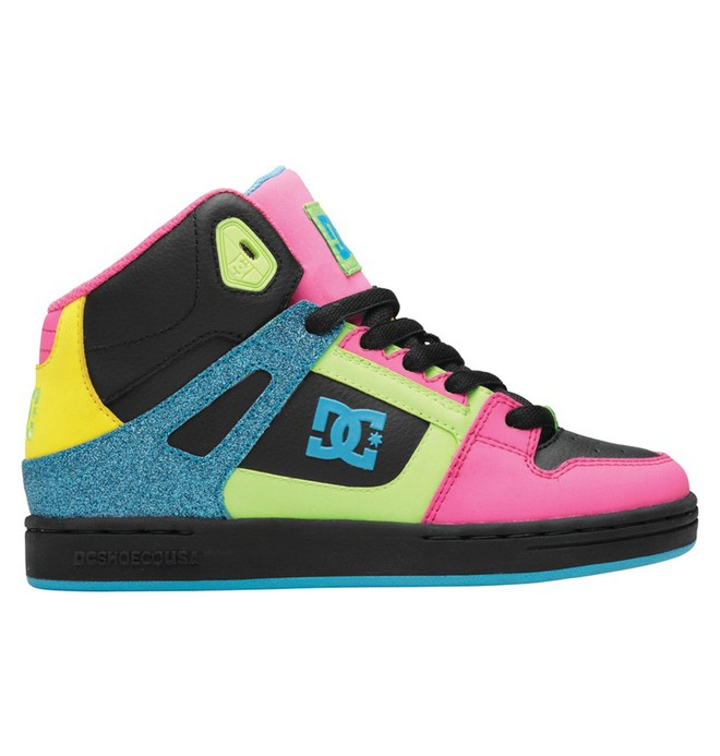 0 Rebound - High-Top Shoes  302676B DC Shoes