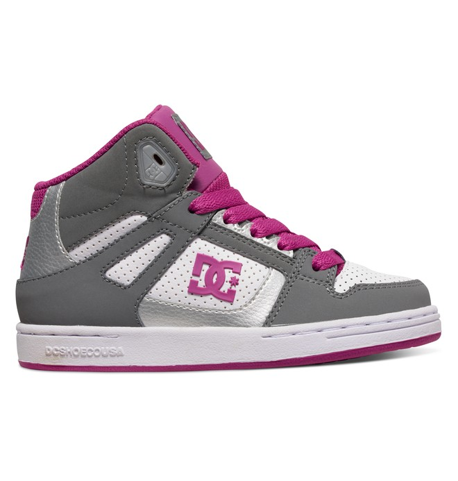 0 Rebound - High-Top Shoes Grey 302676B DC Shoes