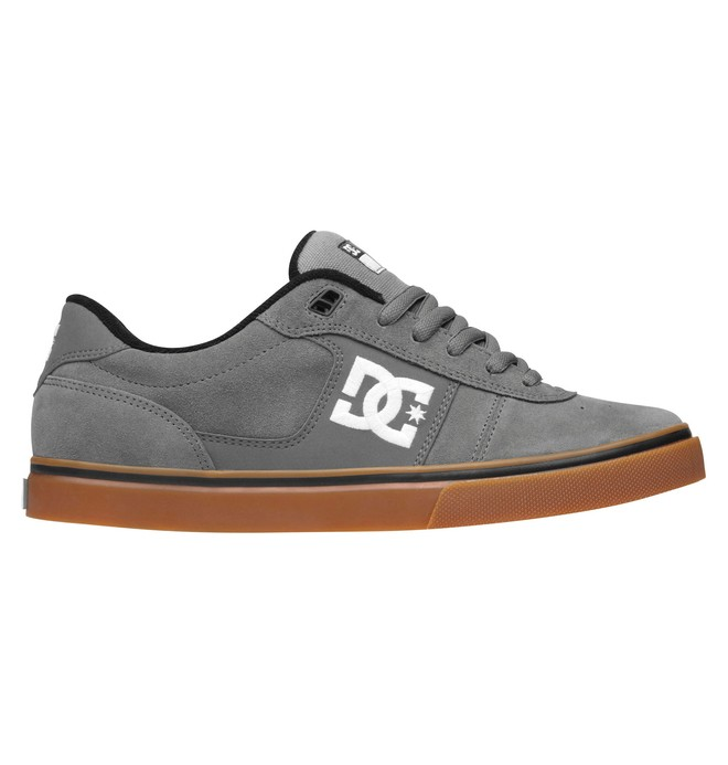 0 Men's Match WC Skate Shoes Grey 302728 DC Shoes