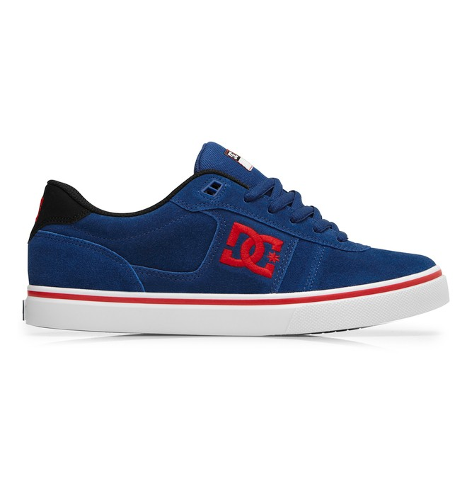 0 Men's Match WC Skate Shoes Blue 302728 DC Shoes