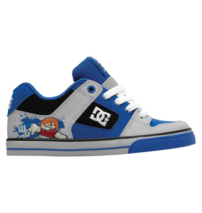 0 Kid's Pure Wild Grinders Shoes  302830A DC Shoes