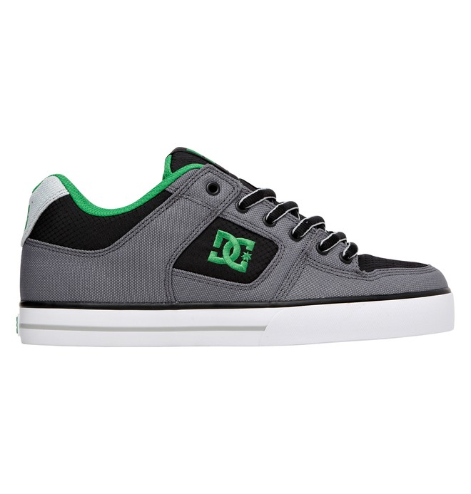 0 Men's Pure TX Low Top Shoes Black 302907 DC Shoes