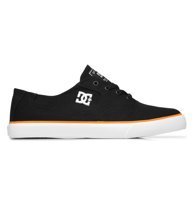 0 Men's Flash TX Shoes Black 302911 DC Shoes