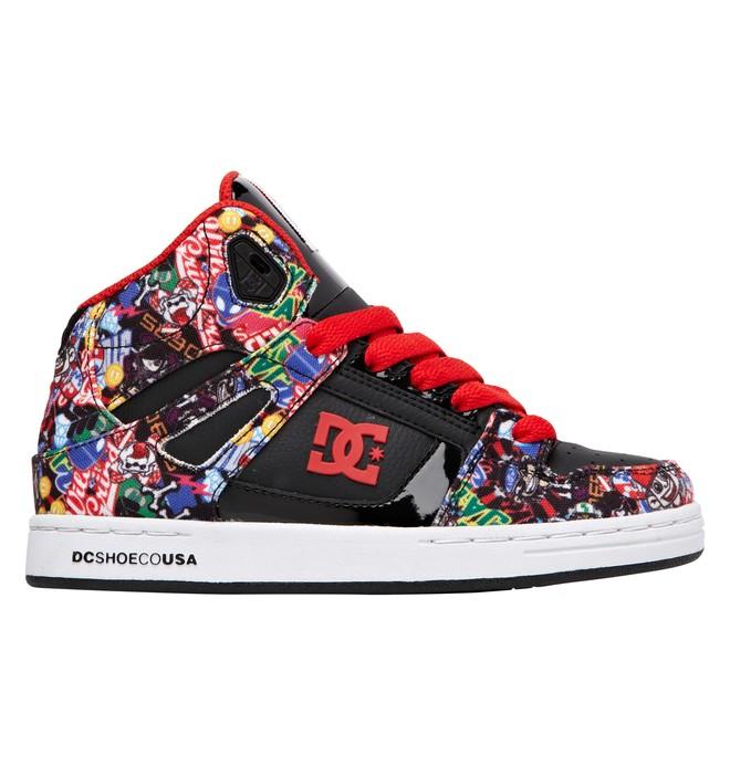 Boy S Wild Grinders Rebound Shoes 302932b Dc Shoes
