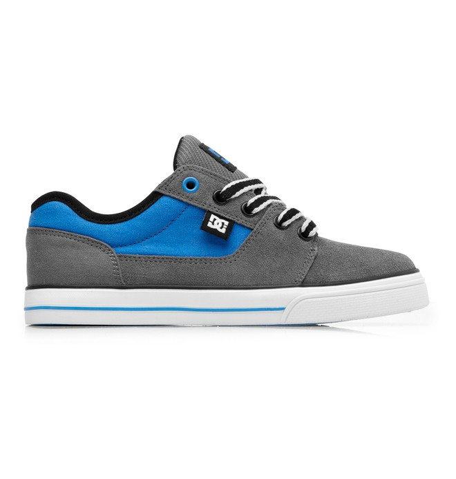 0 Kid's Bristol Shoes Grey 303081A DC Shoes