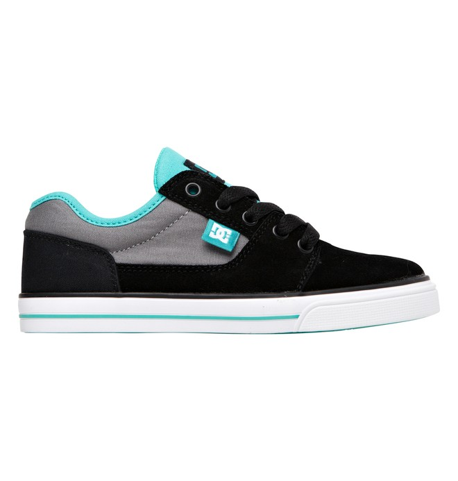 0 Kid's Bristol Shoes Black 303081A DC Shoes