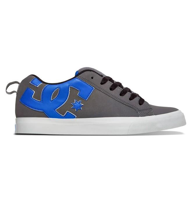 0 Men's Court Vulc Shoes Grey 303181 DC Shoes