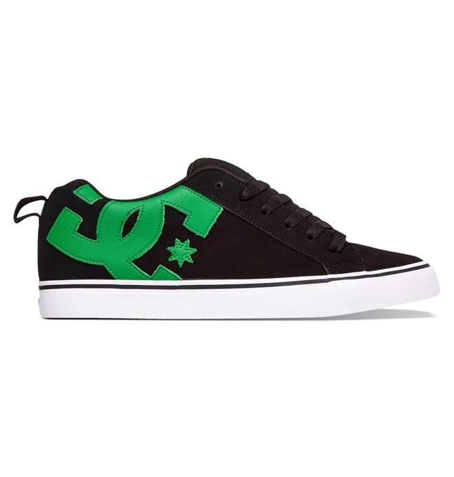 0 Men's Court Vulc Shoes Black 303181 DC Shoes
