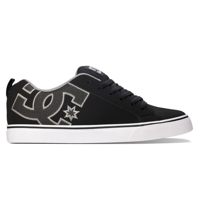 0 Men's Court Vulc SE Shoes Black 303187 DC Shoes