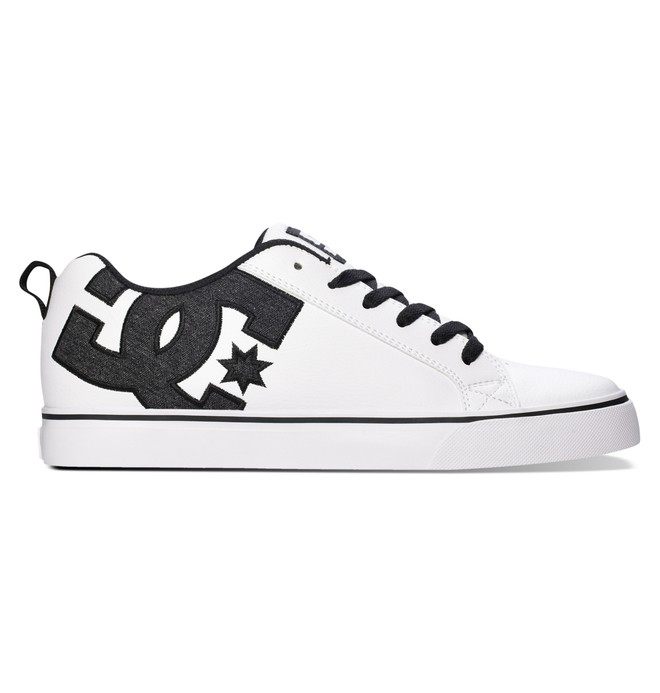 0 Men's Court Vulc SE Shoes White 303187 DC Shoes