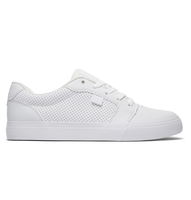 0 Men's Anvil Shoes White 303190 DC Shoes