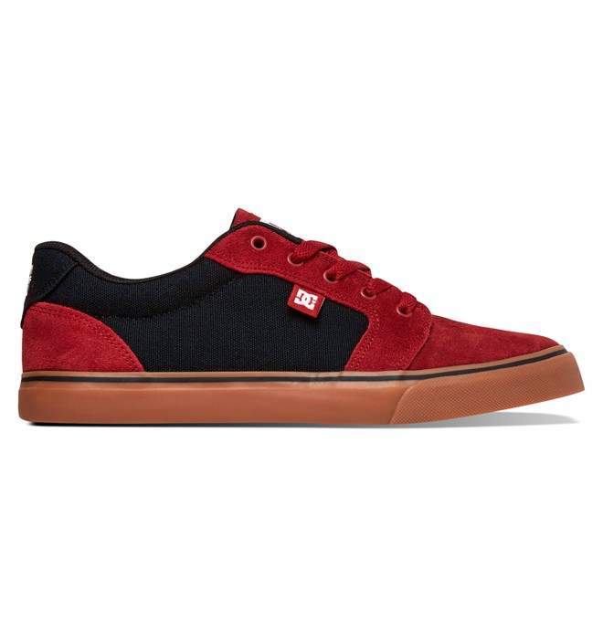 0 Men's Anvil Shoes Red 303190 DC Shoes