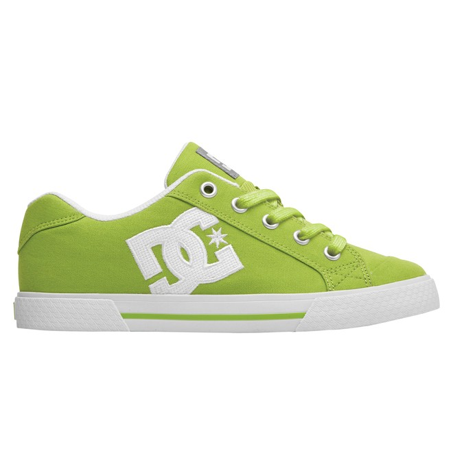 0 Women's Chelsea TX Low Top Shoes Green 303226 DC Shoes