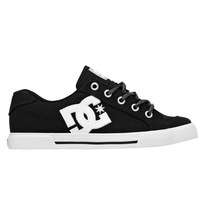 0 Women's Chelsea TX Low Top Shoes Black 303226 DC Shoes
