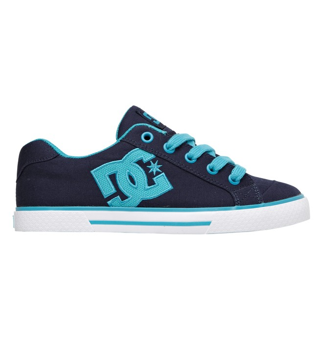 0 Women's Chelsea TX Low Top Shoes Blue 303226 DC Shoes