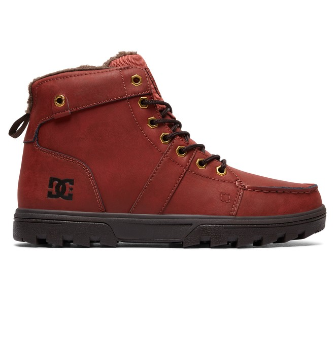 0 Men's Woodland Winter Boots Brown 303241 DC Shoes