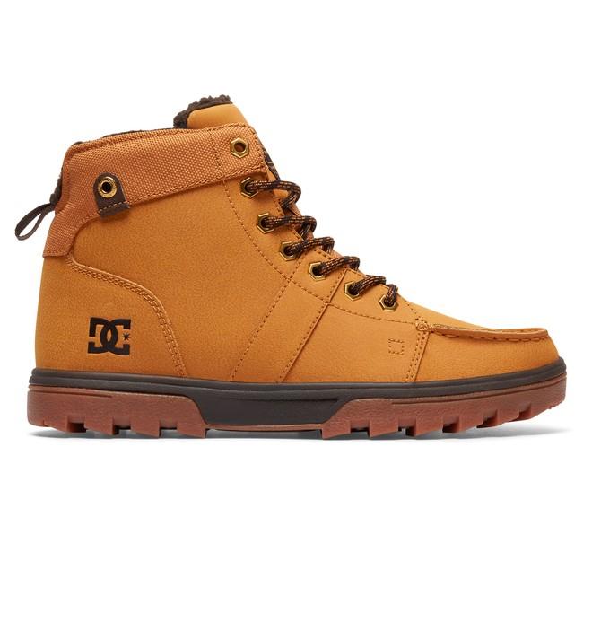 0 Men's Woodland Winter Boots Beige 303241 DC Shoes
