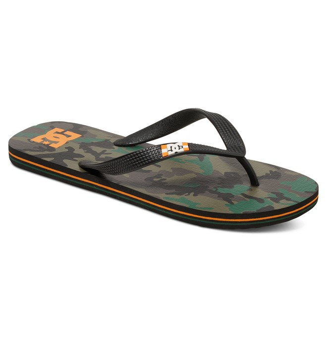 0 Spray Graffik - Sandalen Orange 303276 DC Shoes