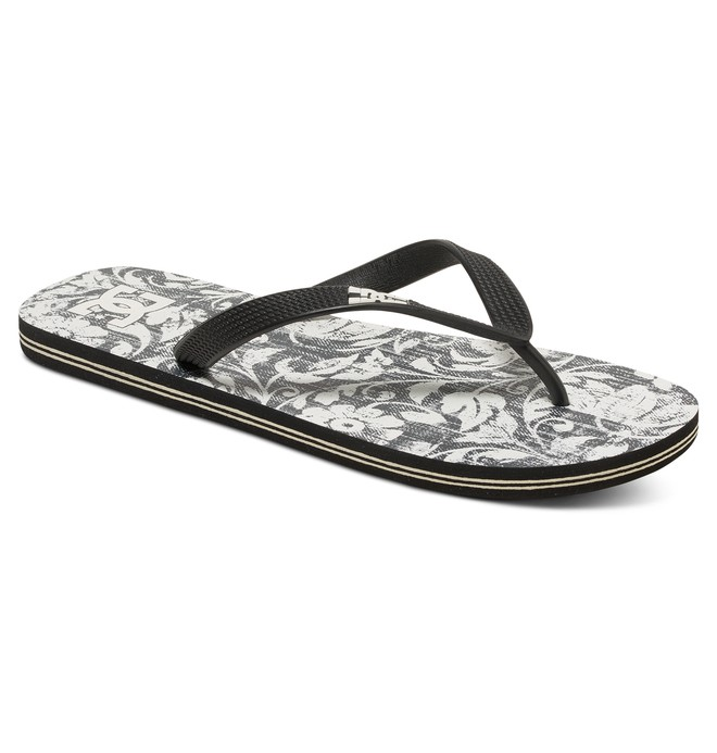0 Spray Graffik - Teenslippers Black 303276 DC Shoes