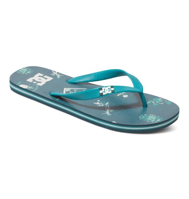 0 Spray Graffik - Flip-Flops Green 303276 DC Shoes