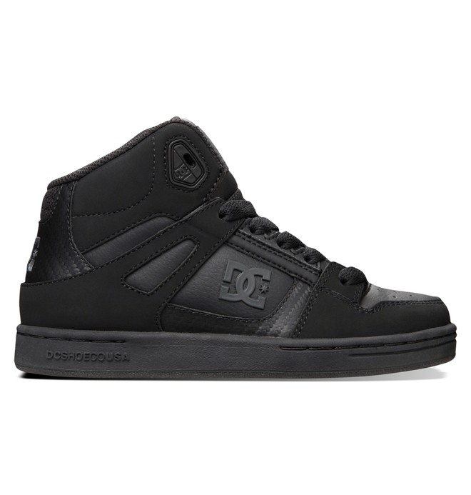 0 Boy's 4-7 Rebound SE High-Top Shoes  303310A DC Shoes
