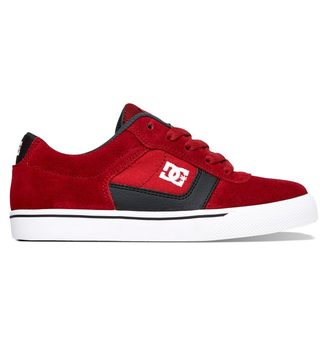 0 Kid's 4-7 Cole Pro Shoes Red 303323A DC Shoes