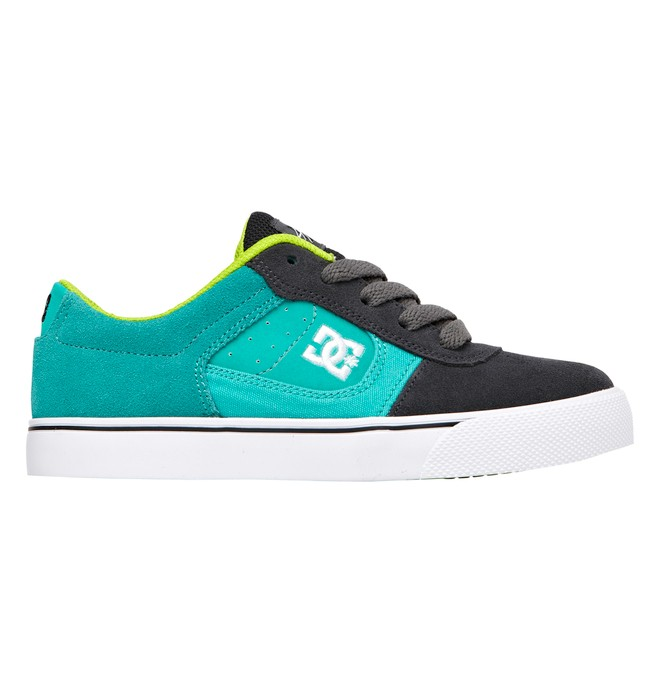 0 Kid's 4-7 Cole Pro Shoes Grey 303323A DC Shoes