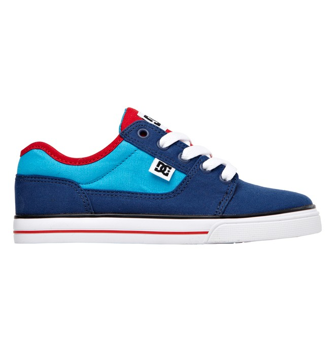 0 Kids Bristol Canvas Shoes Blue 303324A DC Shoes