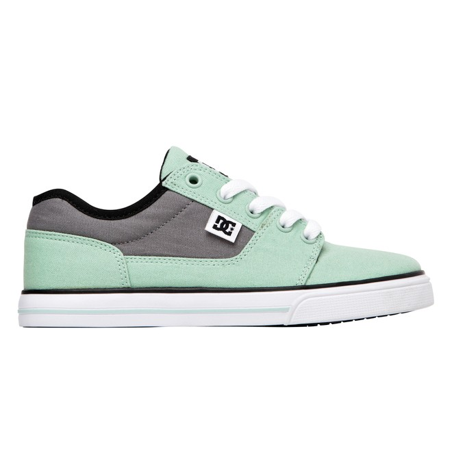 0 Kids Bristol Canvas Shoes Green 303324A DC Shoes