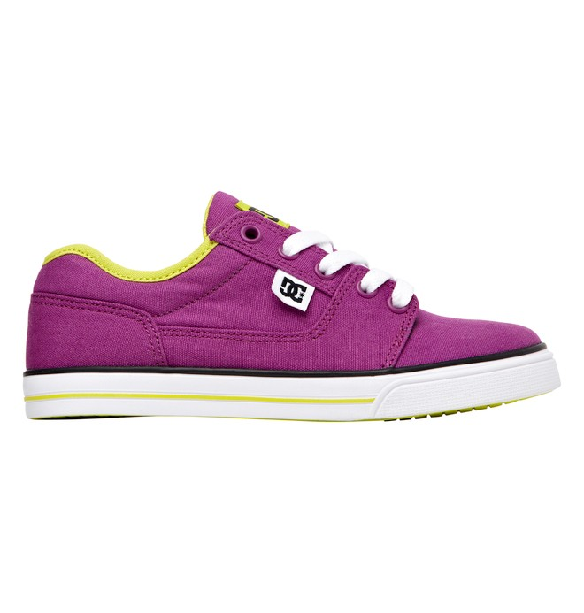 0 Kids Bristol Canvas Shoes Purple 303324A DC Shoes