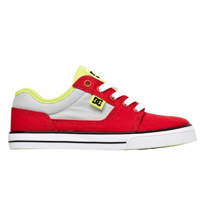 0 Kids Bristol Canvas Shoes Red 303324A DC Shoes