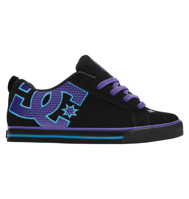 0 Women's Court Graffik Vulc Shoes  303327 DC Shoes