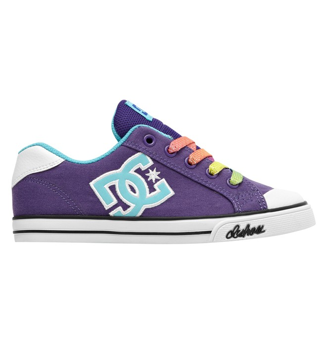 0 Girl's Chelsea Canvas Shoes  303341A DC Shoes