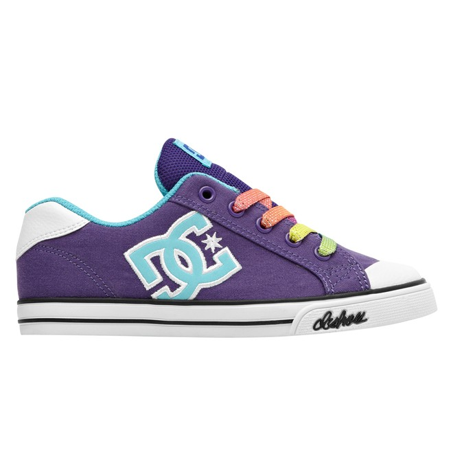 0 Girl's Chelsea Canvas Low Top Shoes  303341B DC Shoes