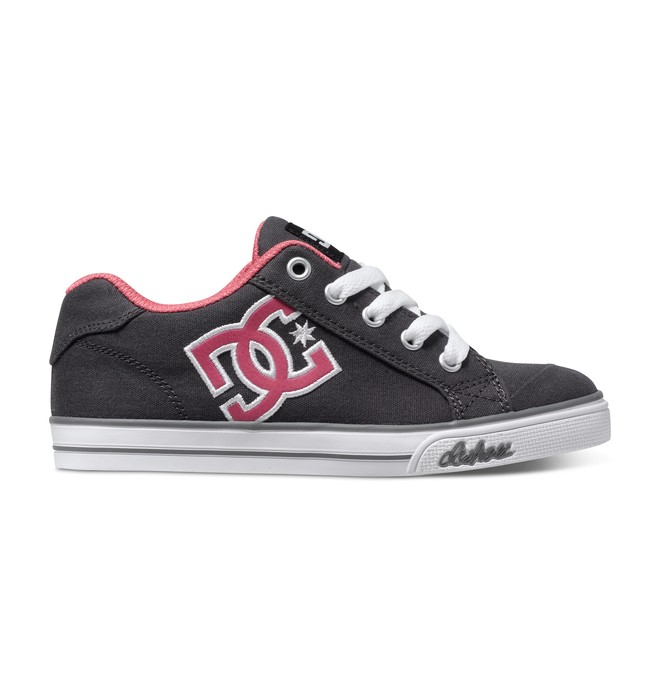 0 Girl's 4-7 Chelsea TX Shoes Green 303344A DC Shoes
