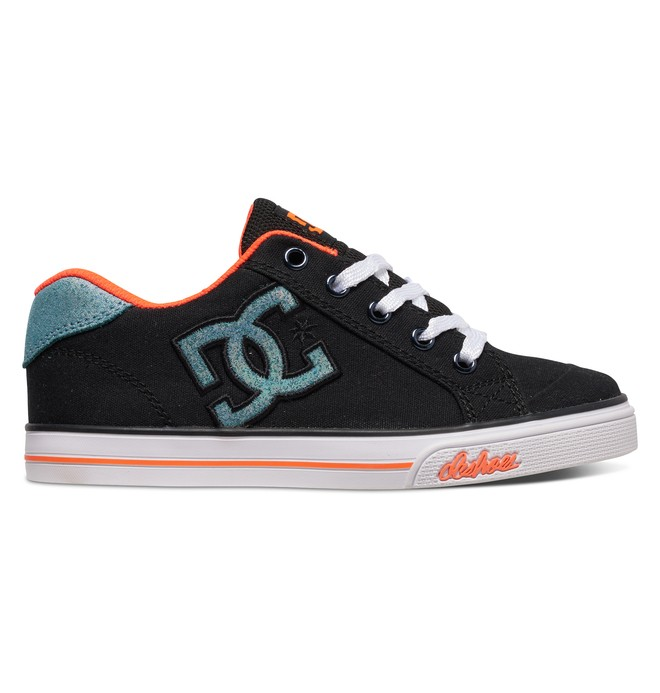 0 Girl's 4-7 Chelsea TX Shoes Black 303344A DC Shoes