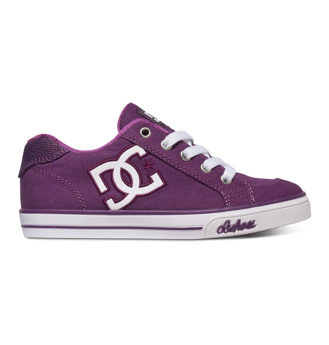 0 Girl's 4-7 Chelsea TX Shoes Purple 303344A DC Shoes