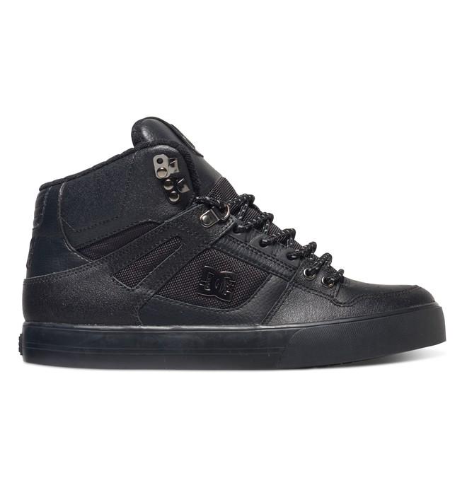 0 Spartan High Wc Se Black 303358 DC Shoes