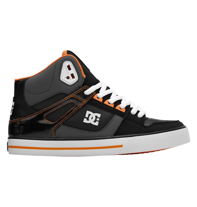 0 Men's Spartan WC SE High-Top Shoes Orange 303358 DC Shoes