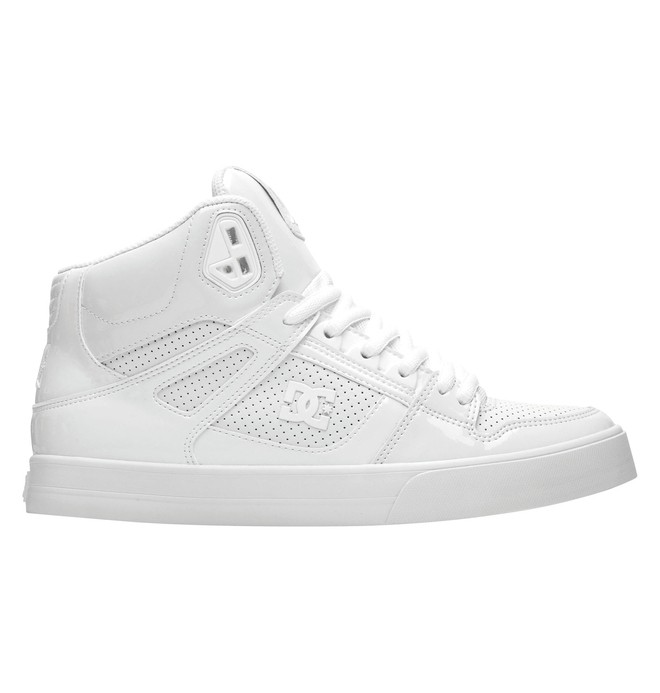 0 Men's Spartan High WC High Top Shoes White 303358 DC Shoes