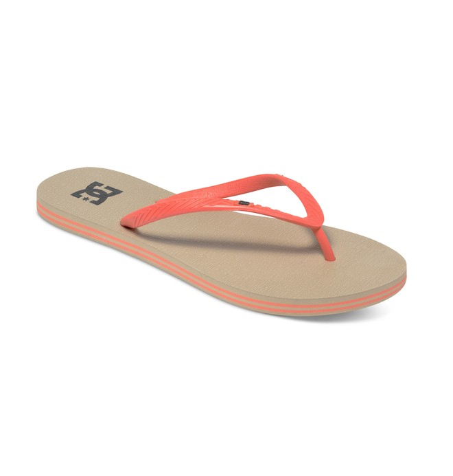 0 Women's Spray Sandals White 303362 DC Shoes