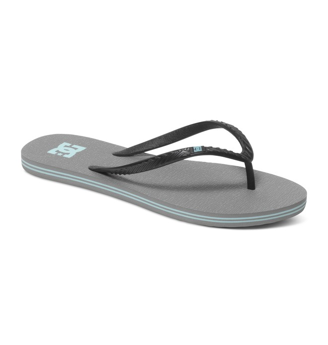 0 Women's Spray Sandals Grey 303362 DC Shoes