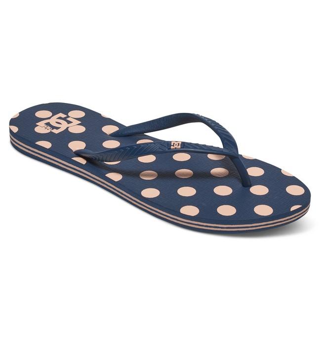 0 Women's Spray Graffik Sandals Blue 303363 DC Shoes