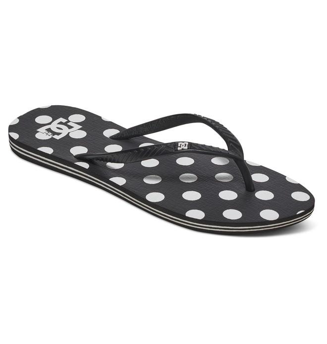 0 Women's Spray Graffik Sandals Black 303363 DC Shoes