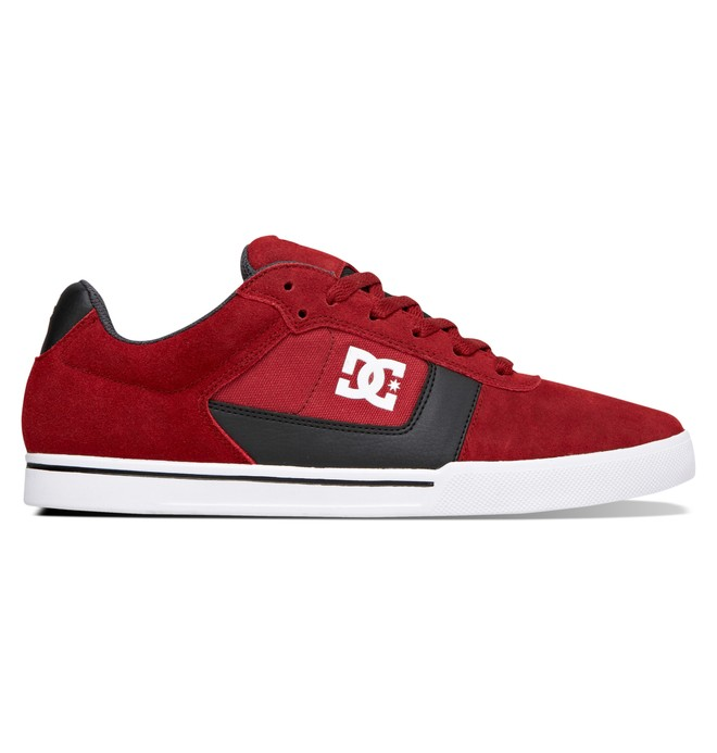 0 Men's Cole Pro Low Top Shoes Red 303371 DC Shoes