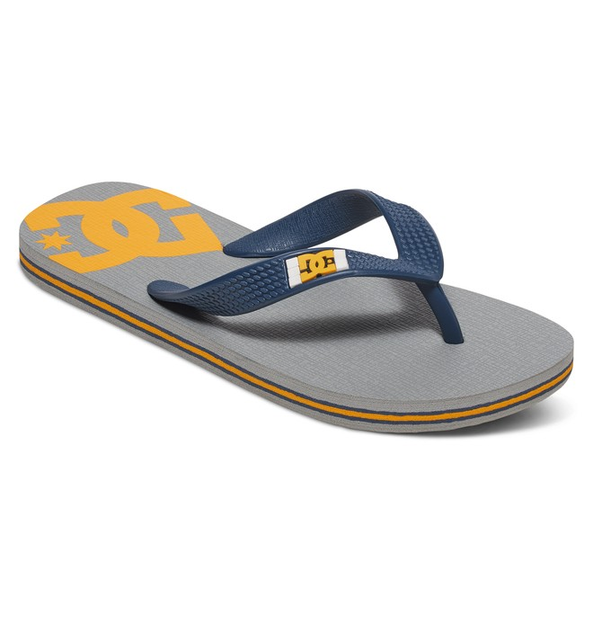 0 Kid's Spray Sandals Grey 303387 DC Shoes