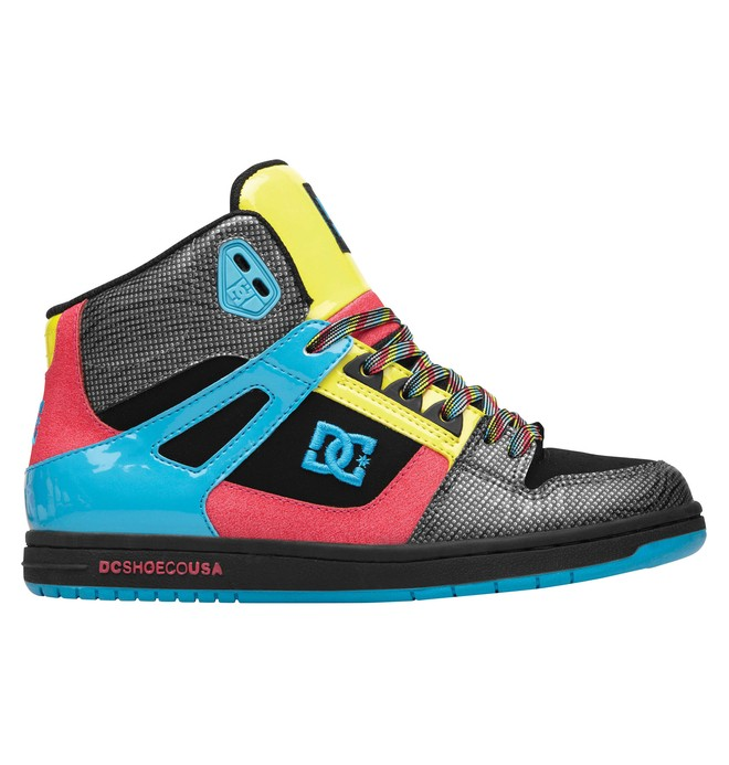 0 Women's Rebound Hi LE Shoes  303400 DC Shoes