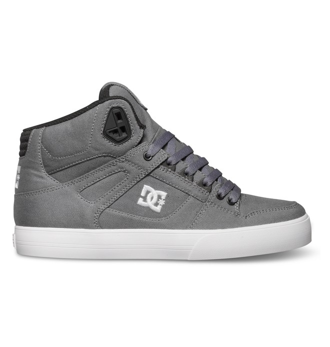 0 Spartan Hi Wc Tx Grey 303435 DC Shoes