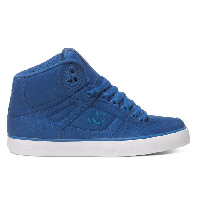 0 Men's Spartan WC TX High-Top Shoes Black 303435 DC Shoes
